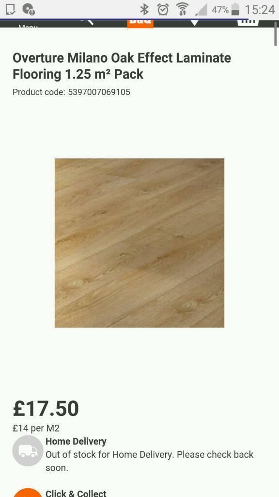 Hd Wallpapers B Q Milano Oak Effect Laminate Flooring Love8designwall