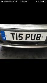 Private Registration PUB T15PUB Private Plate Reg, cherished plate, Volvo T5