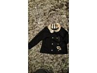 BURBERRY JACKET COAT 3 yr old girls plus FREE NEXT DAY DELIVERY