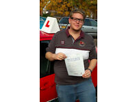 Bourne to Drive Lady driving instructor