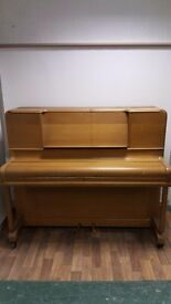 Beautiful Squire Upright Overstrung Piano - FREE DELIVERY WITHIN 50 MILES OF NOTTINGHAM