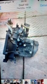 Citroen C4 5 speed gearbox