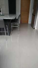 High quality polished grey porcelain floor tiles