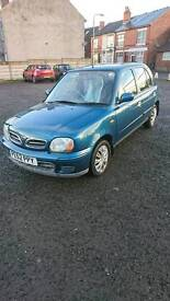 Nissan micra 1.3 automatic petrol