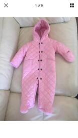 Ralph Lauren polo Pink Snowsuit