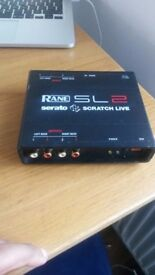 Rane Serato SL2- Quick Sale. Not been used in two years