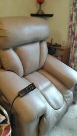 Quality leather recliner chair