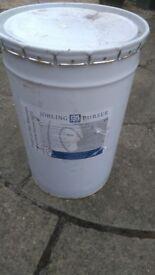 Drum 25kg black bitumen 50 /70 pen