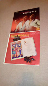 HARRY BELAFONTE-1 X LP.PLUS 1 X CHRISTMAS LP-EX++