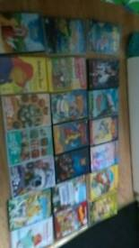 Collection of children's dvds