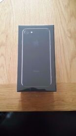 Brand New Iphone 7 - RARE Jet Black - 128 GB - Never Opened - Sealed - Vodafone *BRAND NEW*