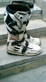 FLY racing motocross boots size 11