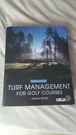 Turf Management for golf courses, second edition , By James B Beard