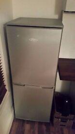 Frigidaire Silver Fridge Freezer