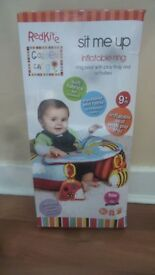 ring seat with play tray and activities 9 months plus (Inflatable ring)