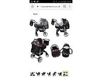 Baby sportive travel system