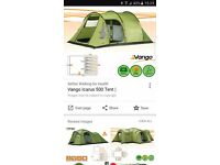 Vango icarus tent and accessories as new.