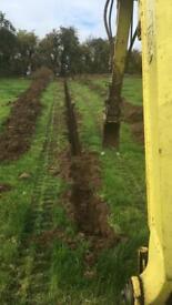 3 ton digger hire
