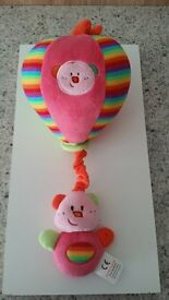 MUSICAL BABY BALOON MOBILE FOR COT