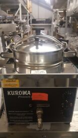 FISH AND CHIPS KEBAB ORIGINAL KUROMA XL TABLE TOP PRESSURE FRYER,SOUTHERN FRIED CHICKEN BRAND NEW