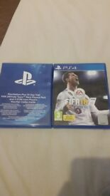 FIFA 18 PS4 + PS PLUS 14 DAY TRIAL + ULTIMATE TEAM PACKS