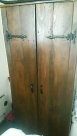 Old looking cupboard like wardrobe ,got hic style