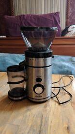 VonShef Premium Burr Coffee Grinder (Conical burr grinders) - Excellent Condition