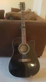 Truss Ross semi-acoustic guitar