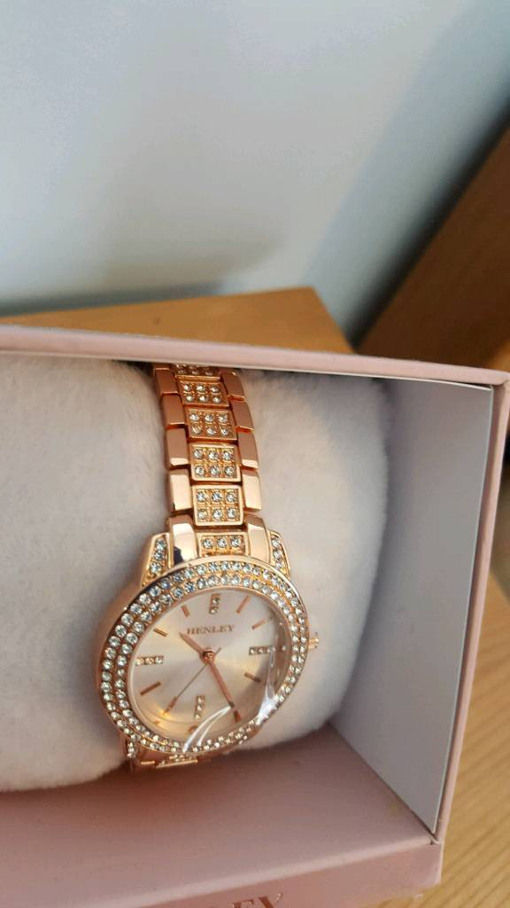 Brand new henley watch rose gold