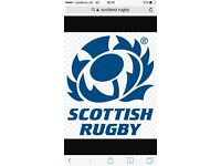 Scotland v Ireland pair of tickets *HALF WAY LINE*