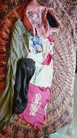 Size 10 bundle hoodie tshirts trousers North Face Superdry Soul Cal SaltRock Billabong