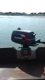 4 hp Suzuki engine long shaft