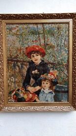 The Two Sisters on the Terrace - Tapestry