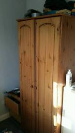 Wardrobe (pine)