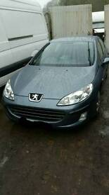 Peugeot 407 1.6 hdi 2006reg breaking for parts