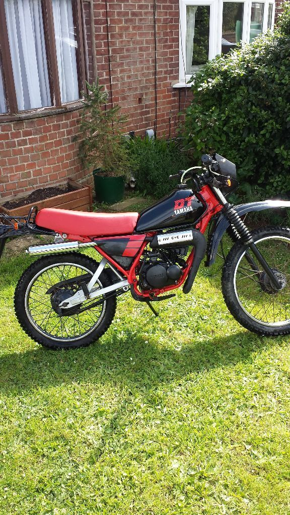 yamaha dt 50 mx 50cc in ipswich suffolk gumtree. Black Bedroom Furniture Sets. Home Design Ideas