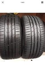 2x 225 50 17 Hankook tyres FREE FITTING WE COME TO YOU