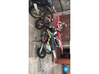 M2r 125cc pitbike with 140race kit on