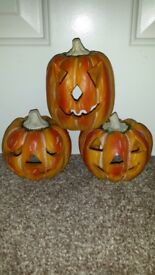 Aquarium 3x Pumpkins Ornament