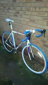 Raleigh Road bike racer racing bike