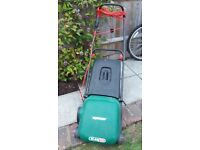 Qualcast lawnmower. Electric in full working order.