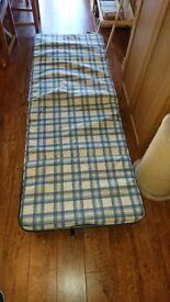 Foldaway single Bed
