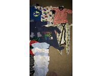 Baby boys new born and 0-3 clothes bundles