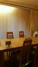 Dining Table x 6 Chairs