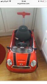 Toddler Push Mini Cooper