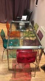 John Lewis Glass Table