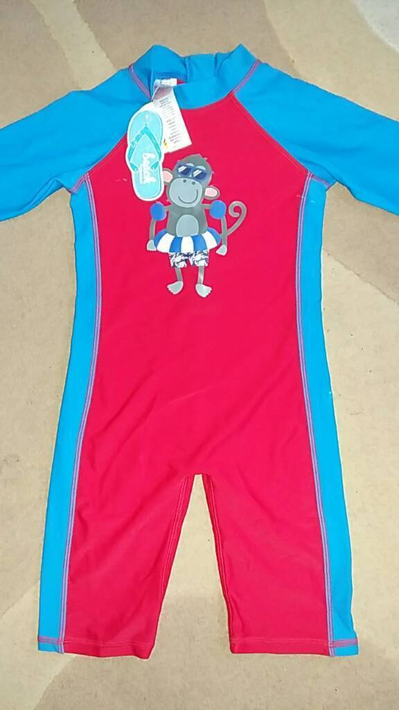 Child's Beach suit/Swimsuit - Age 4-5 Years - Brand New with Tags