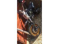 Stomp Pit bike rolling frame