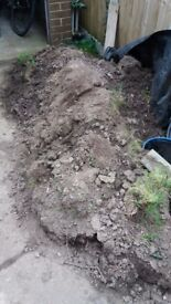 Free top soil in southbourne