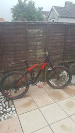 cube stereo 160 hpa race 27.5 2017 full suspension mtb.mint condition